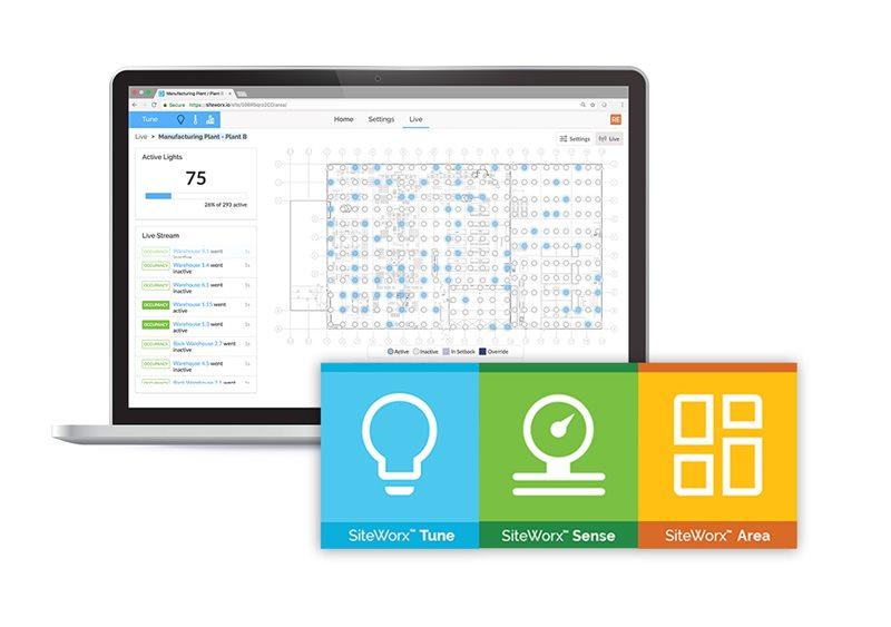 Plataforma Industrial IoT SiteWorx Tune Sense Area