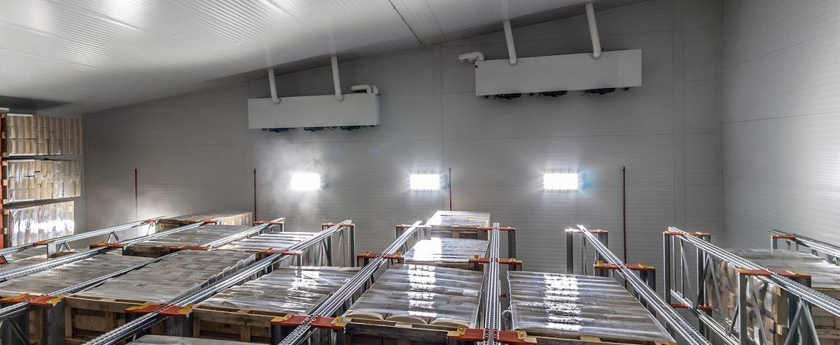 Ahorros de más del 100% del consumo energético en iluminación de instalaciones logísticas de frio